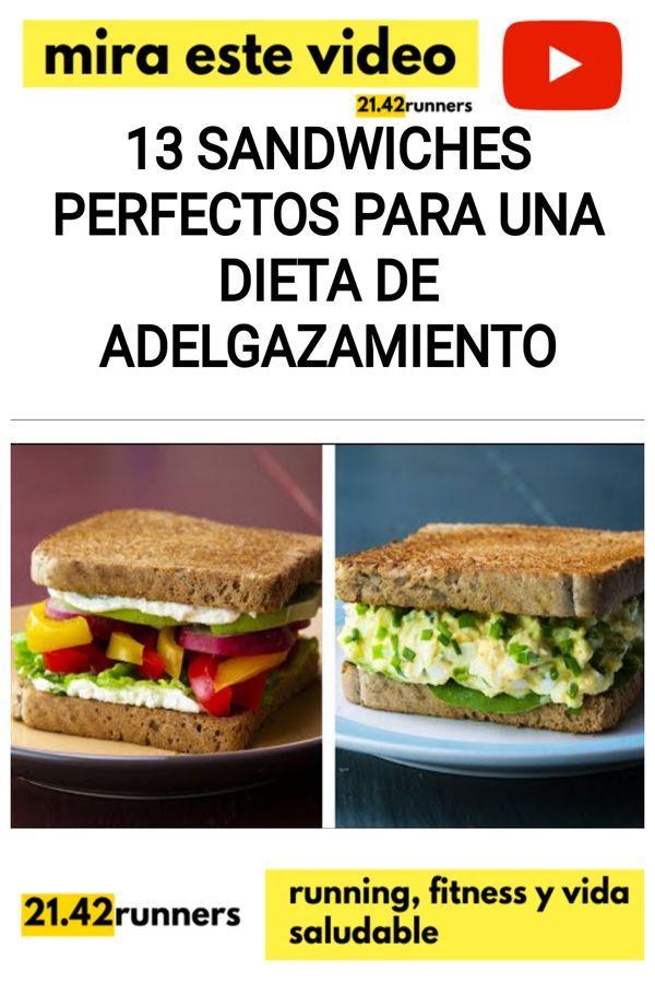 sandwiches para la dieta