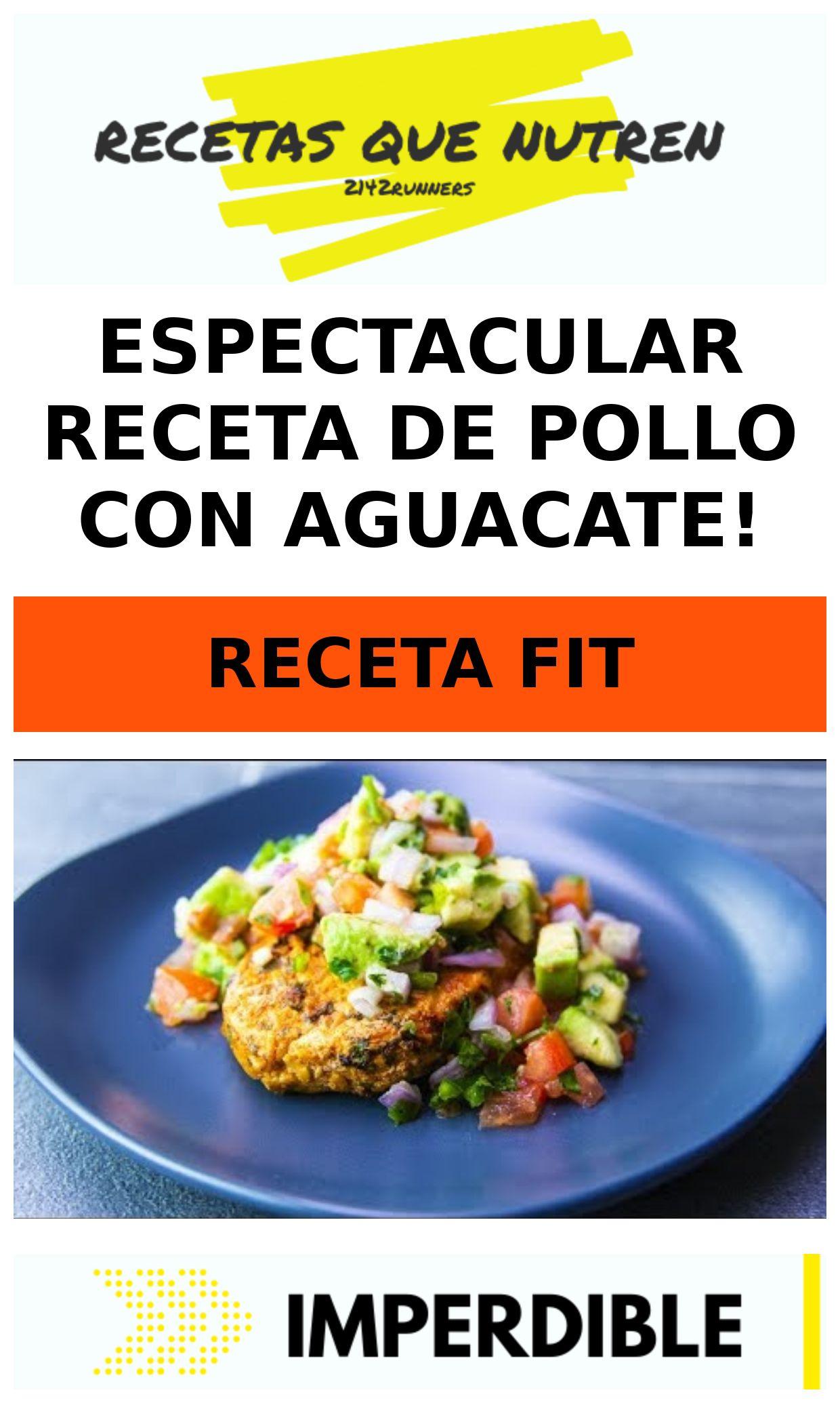 Espectacular receta de POLLO con AGUACATE!