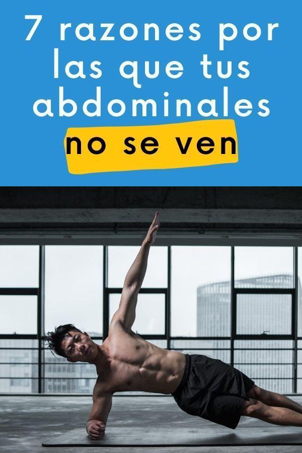 razones por las que no se ven los abdominales