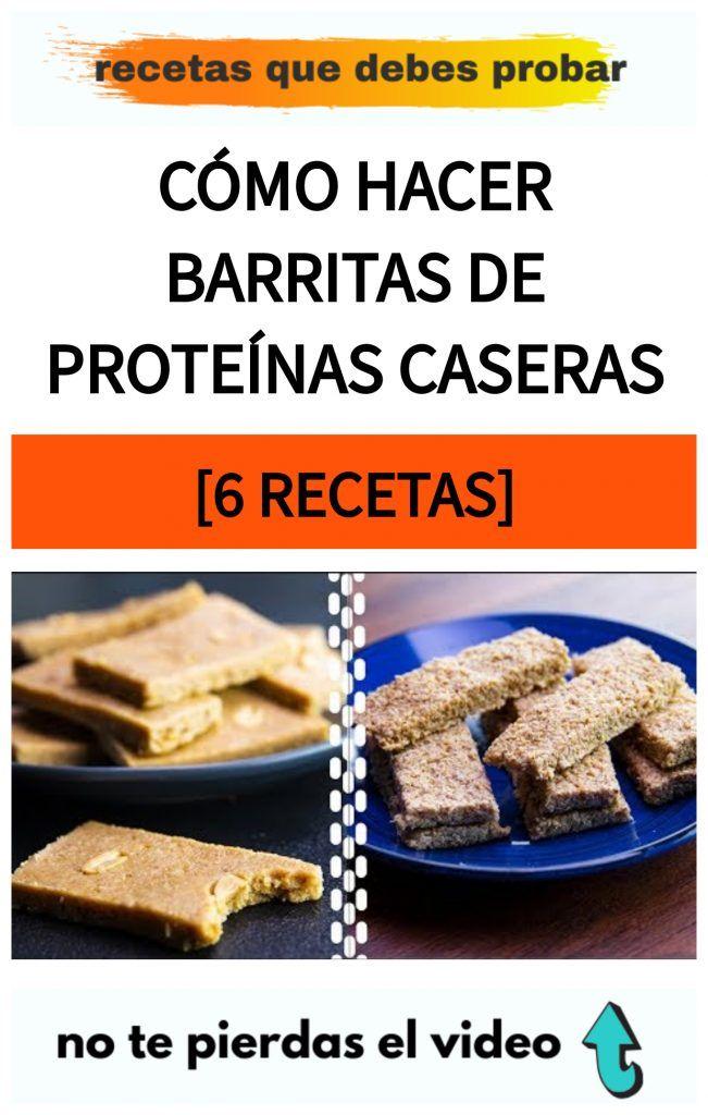 Cómo HACER Barritas de Proteínas CASERAS