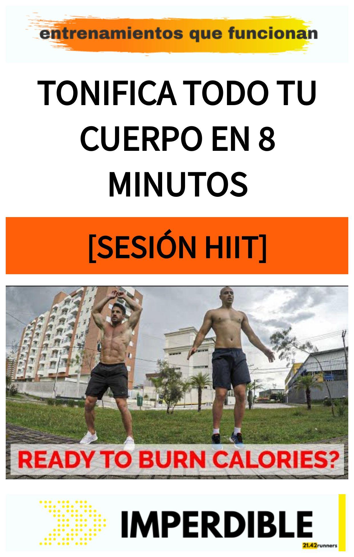 Tonifica todo tu cuerpo en 8 minutos