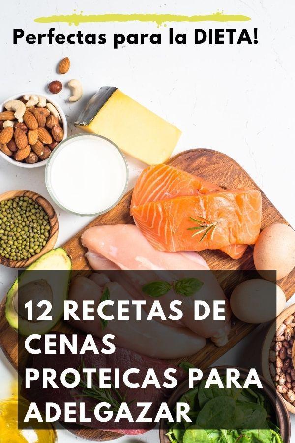 recetas cenas proteinas