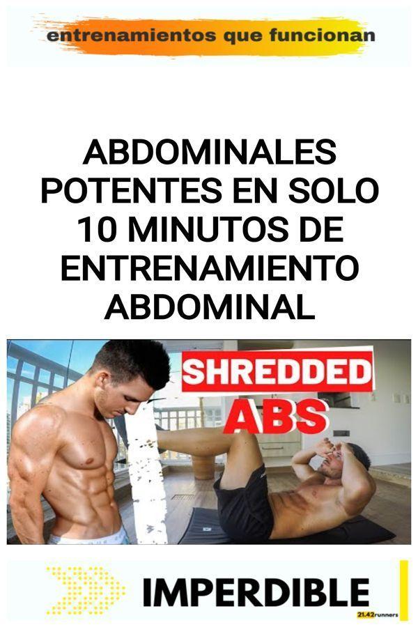 Abdominales POTENTES en solo 10 minutos de entrenamiento abdominal 22