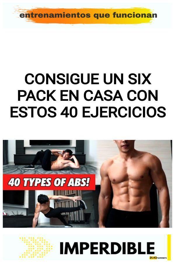 Consigue un six pack en casa con estos 40 ejercicios 12