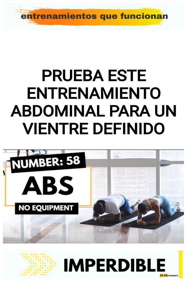Prueba este entrenamiento abdominal para un VIENTRE DEFINIDO 19
