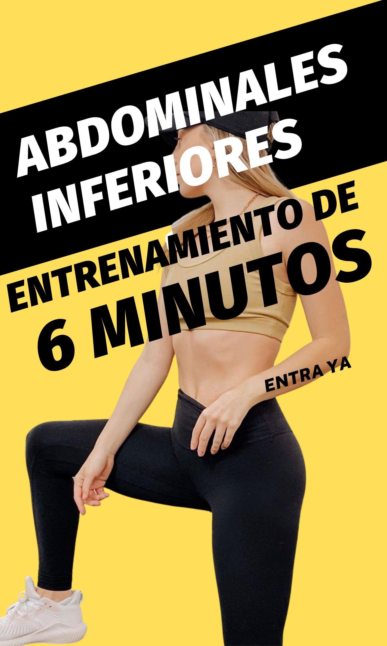 Abdominales INFERIORES impresionantes en menos de 6 minutos