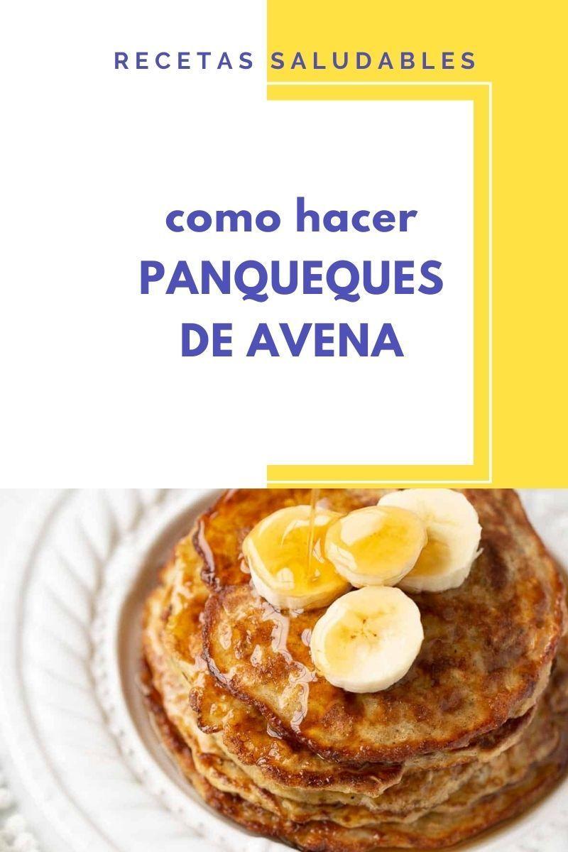 PANQUEQUES DE AVENA