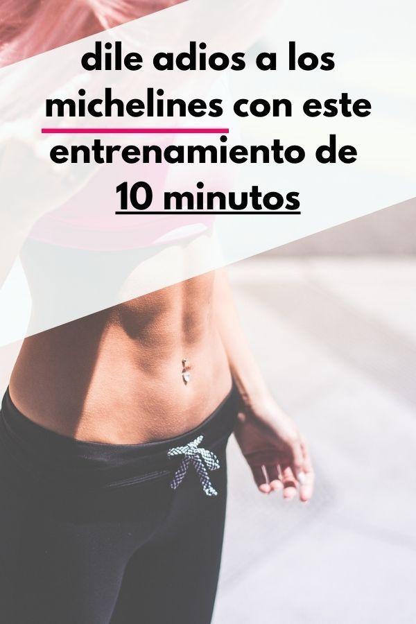 dile adios a los michelines con este entrenamiento de 10 minutos