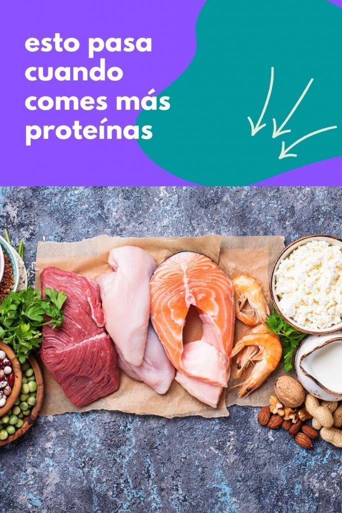 esto pasa cuando comes más proteínas
