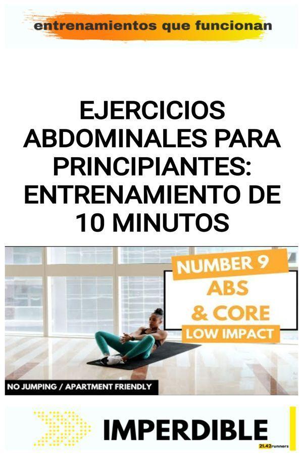 Ejercicios Abdominales Para Principiantes Entrenamiento De 10 Minutos 21 42runners