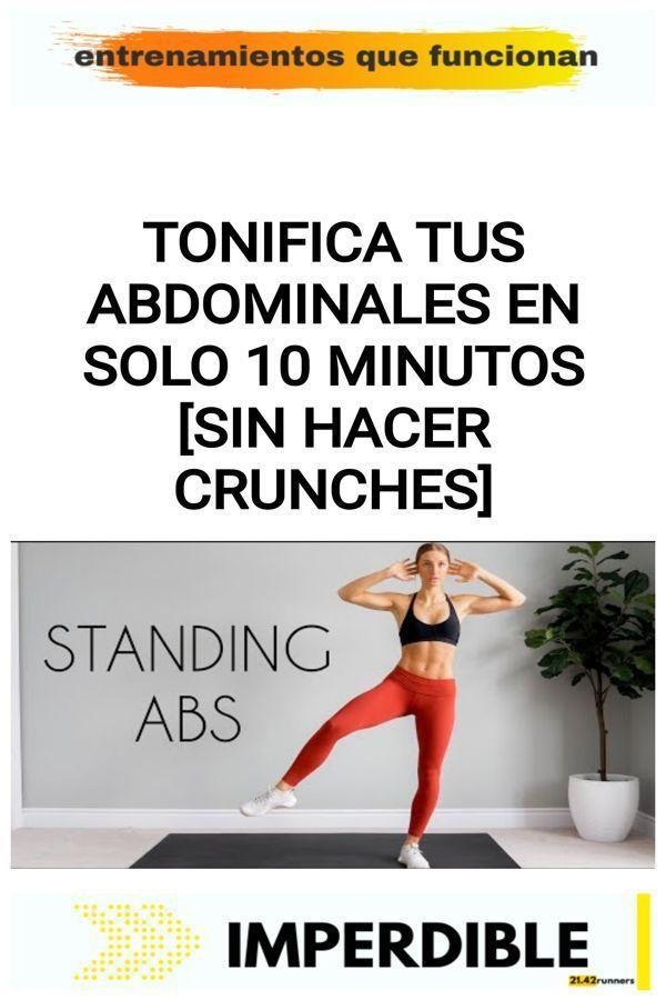 Tonifica tus abdominales en solo 10 minutos [sin hacer crunches] 6
