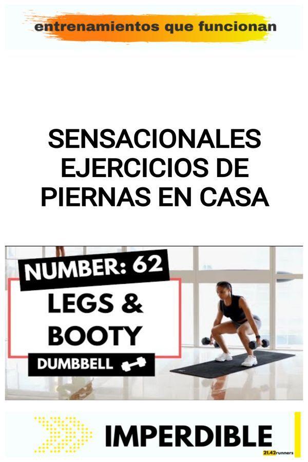 Sensacionales ejercicios de piernas en casa