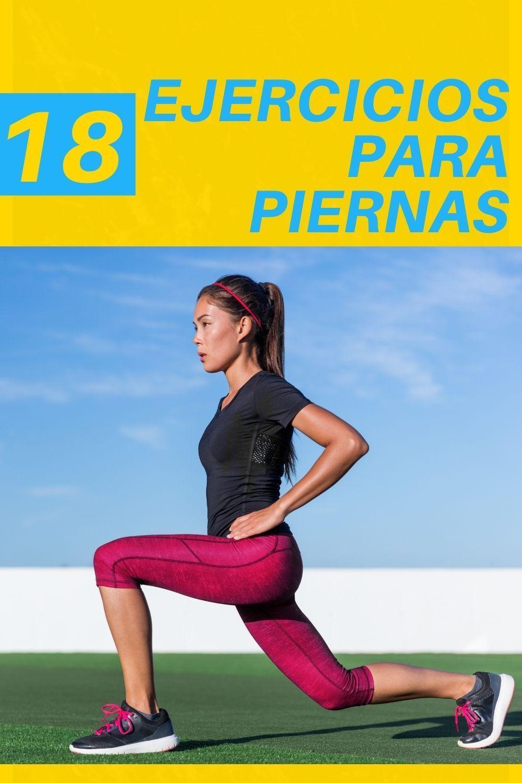 18 ejercicios para piernas