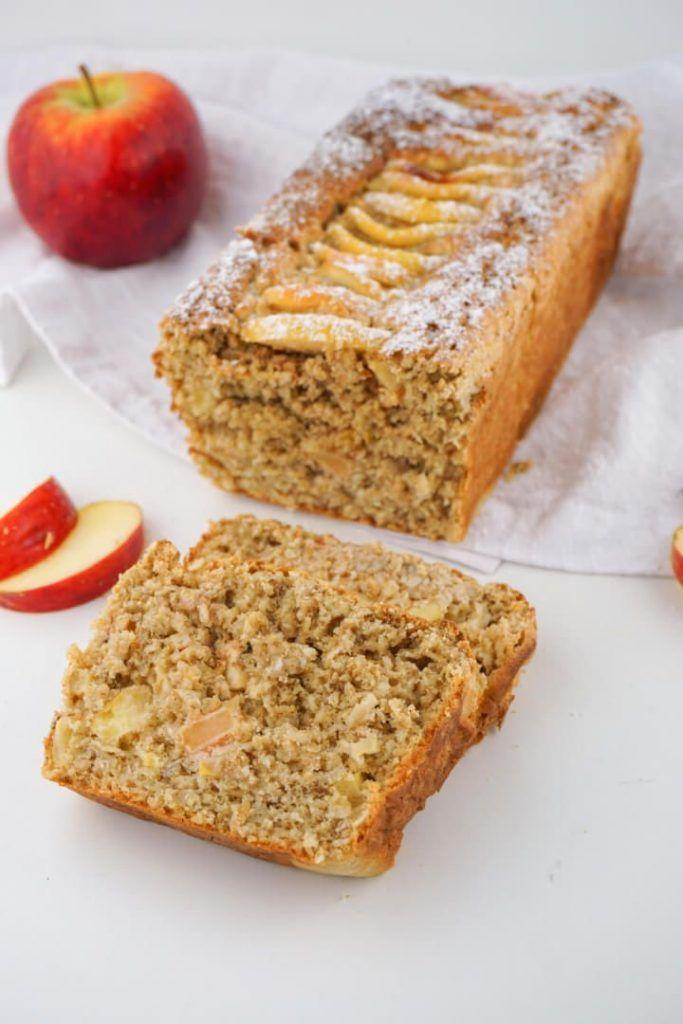 Pastel de avena y manzana sin azúcar - Receta de