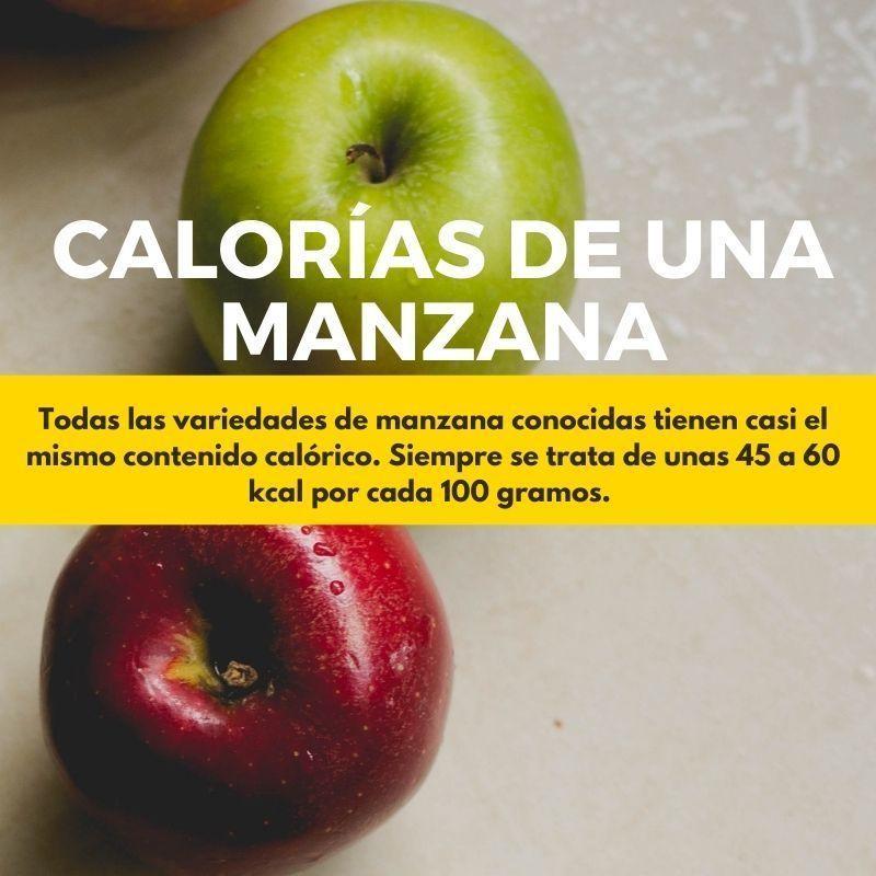 MANZANAS: Cuantas calorías tienen | VERDES vs ROJAS Diferencias 1